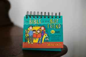 The Bible is My Best Friend Flip Calendar Review & Giveaway