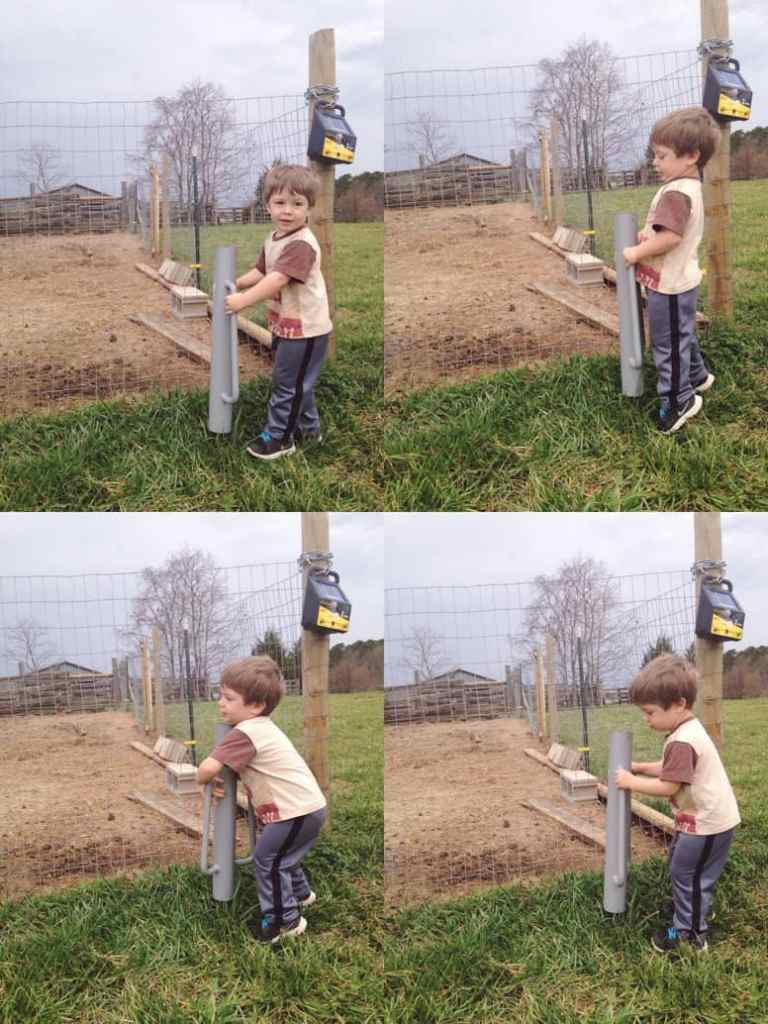 Electric Fence installation