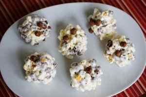 4 Ingredient Popcorn Cereal Balls