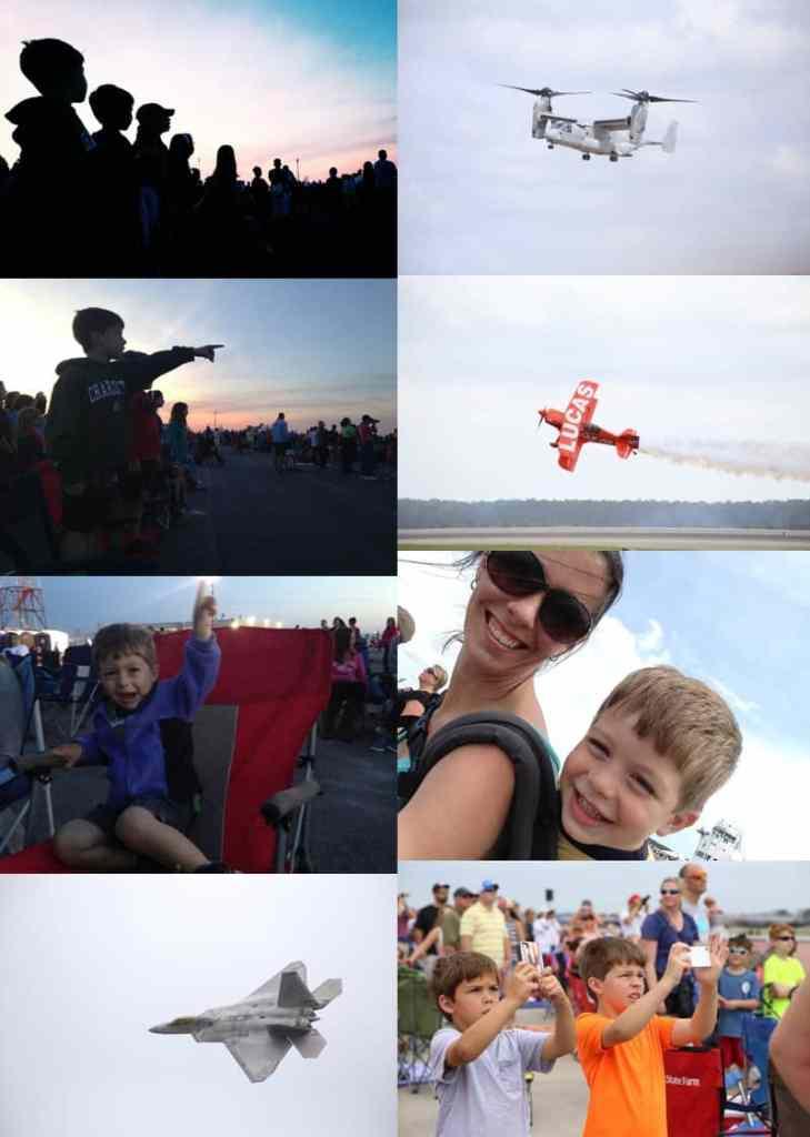 Airshow Vacation Fun