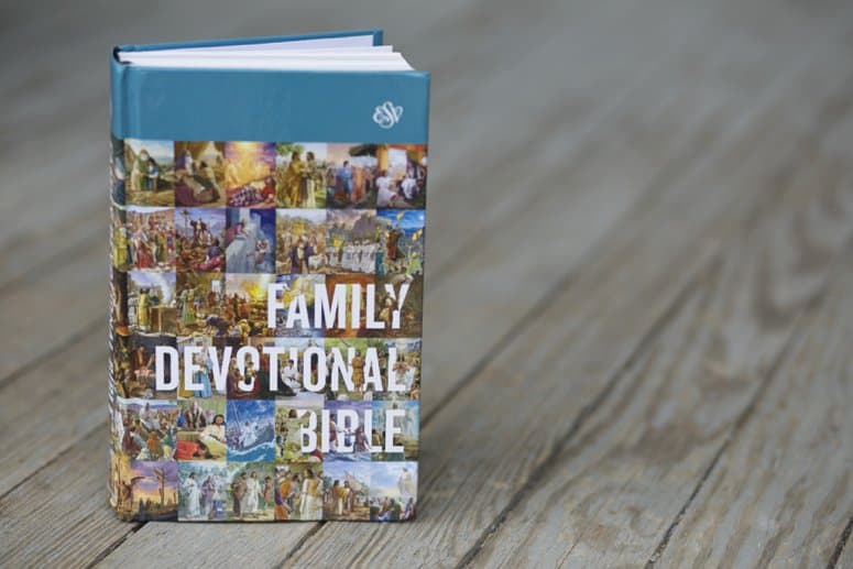 ESV Family Devotional Bible Review + Giveaway