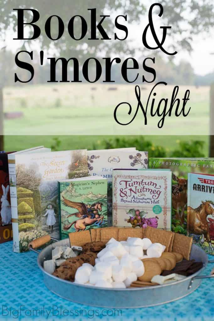 Books and S'mores Night