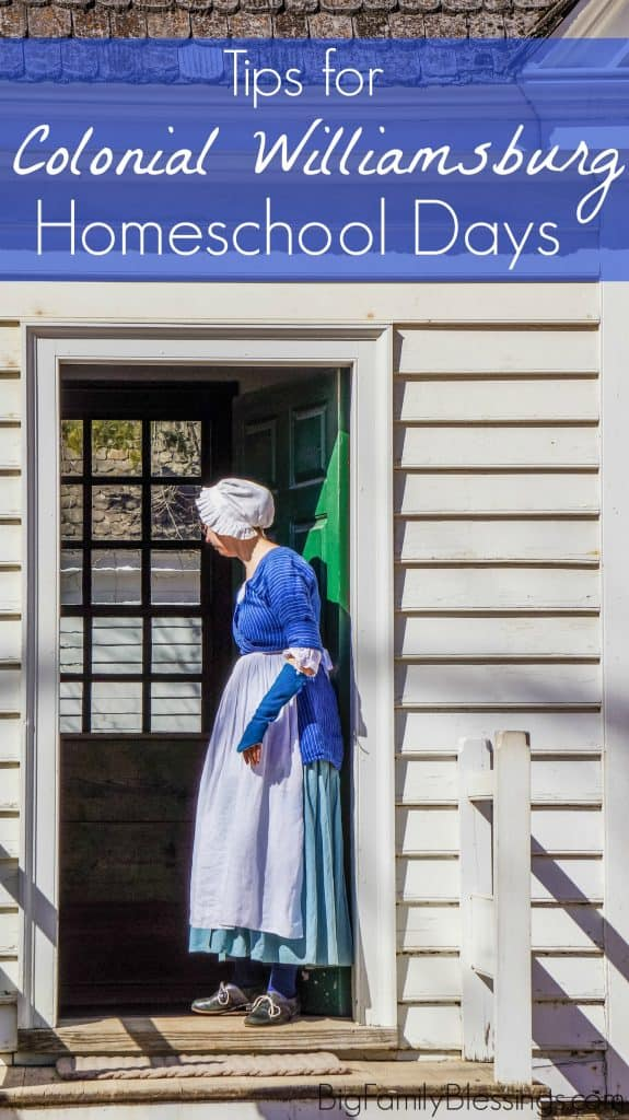 Colonial Williamsburg's twice annual homeschool days are a wonderful way to combine a fabulous family vacation with hands-on-learning through living history. Today I'm sharing some tips and tricks to help you make the best of Homeschool Days at Colonial Williamsburg.