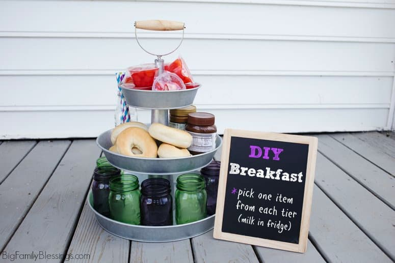 Build a Better Breakfast with a DIY Breakfast Station