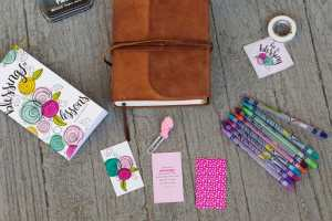 Simple Bible Journaling for Busy Moms with Illustrated Faith's Devotional Kits