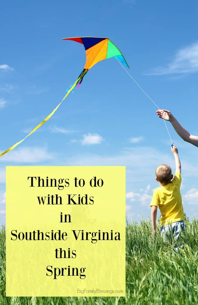 Southside Virginia Spring family friendly activities.