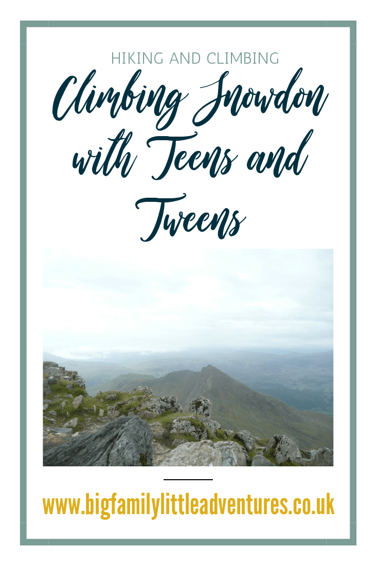 If you are considering climbing Mount Snowdon with your teen or tween, click through to find out some hints and tips for the climb and find out how we got on climbing the mountain without using the mountain train!