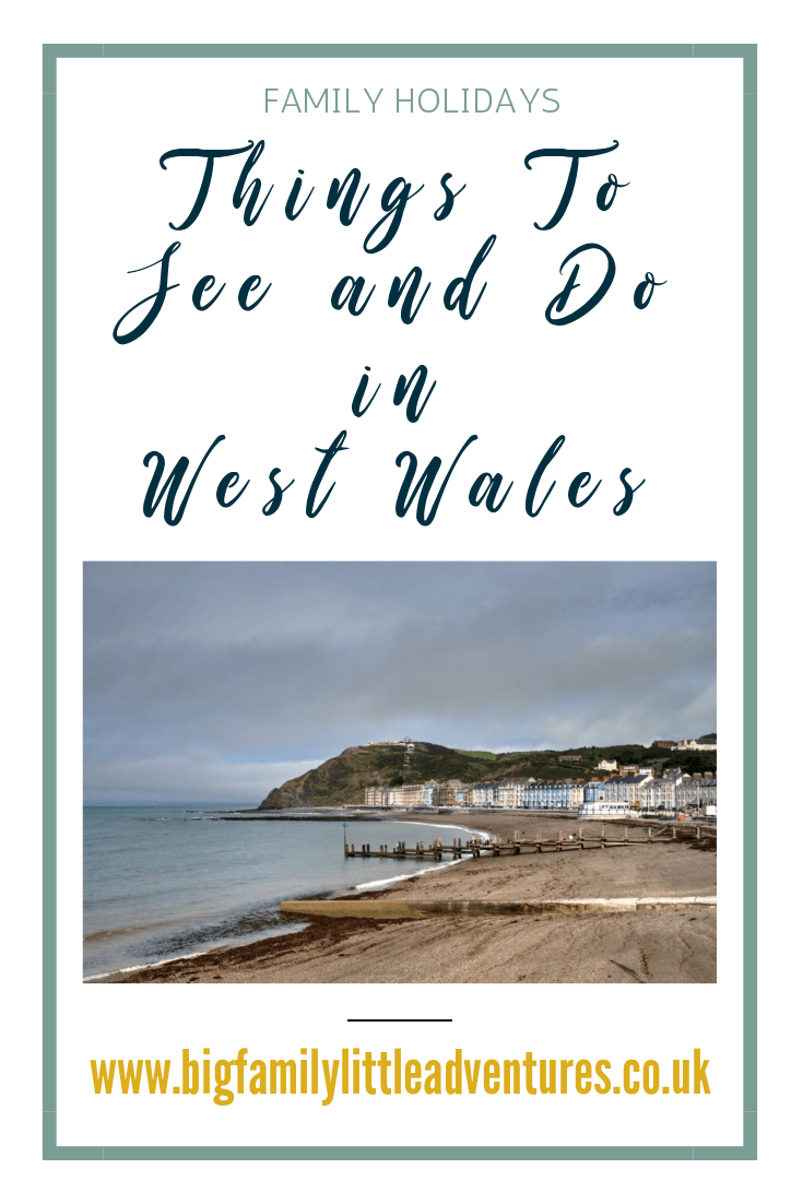 Having a large family we are always looking for places that can cater for all of us, click through to find out what we did in West Wales
