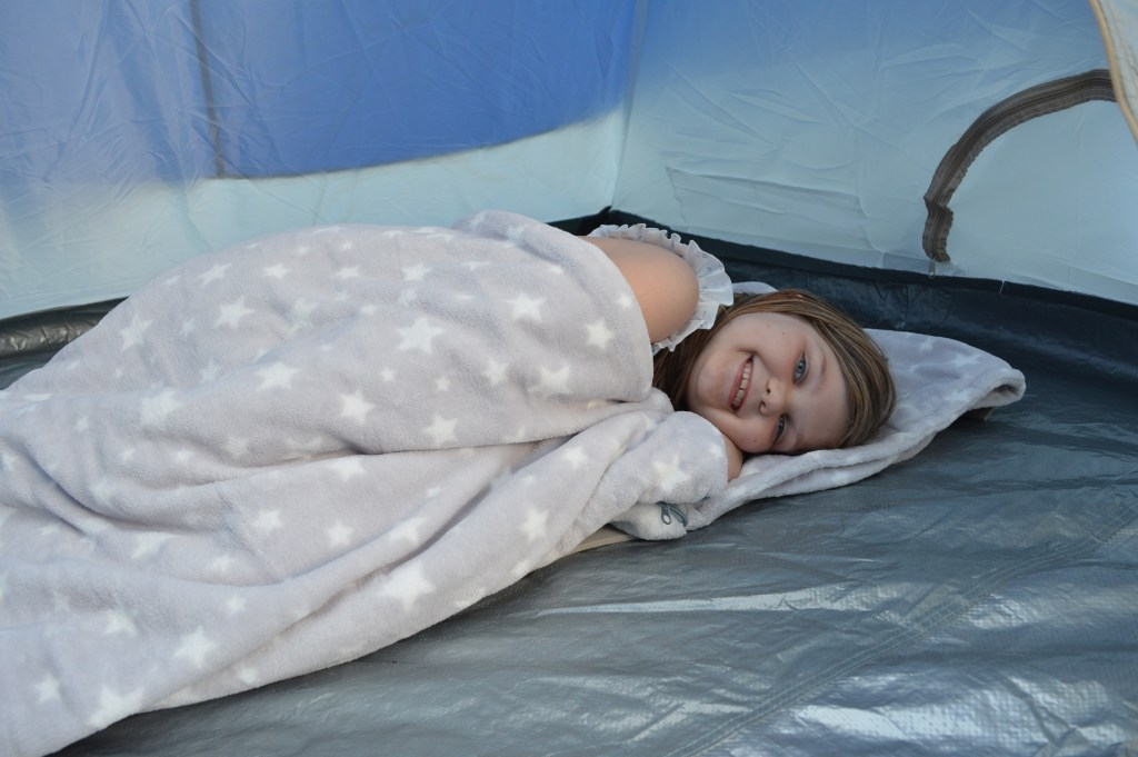 Snuggle Sac – The Perfect Bed For Camping
