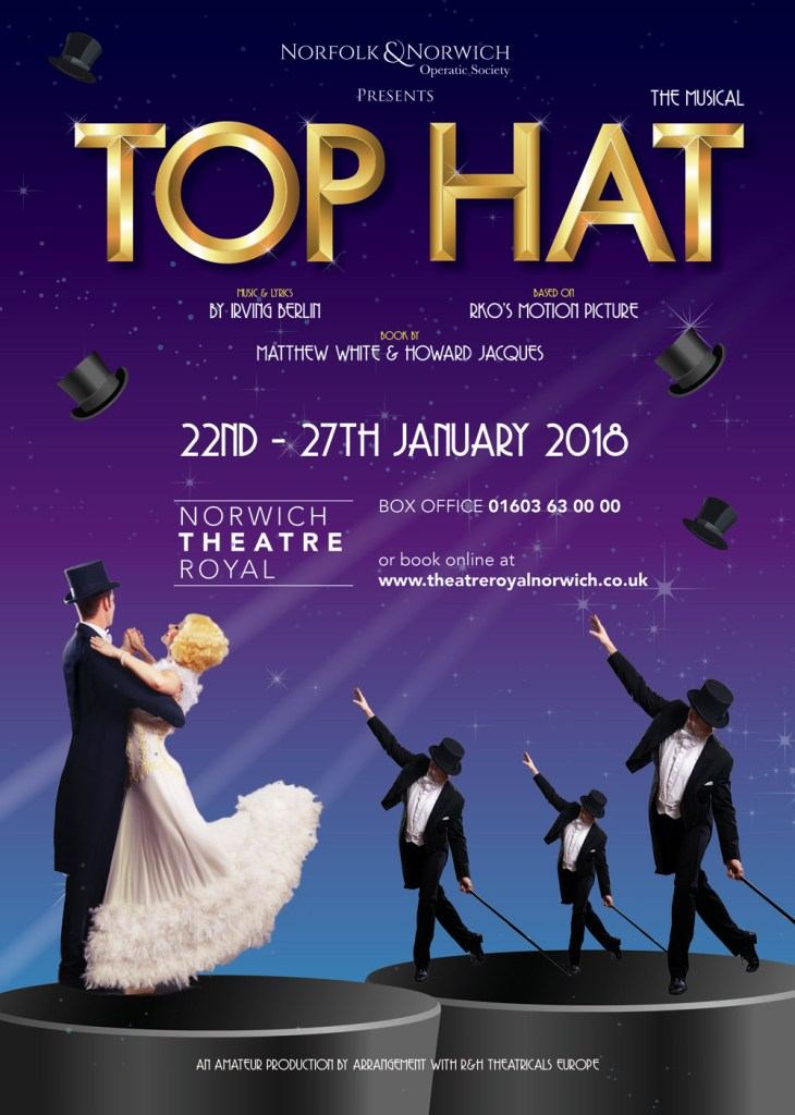 Top Hat at Norwich Theatre Royal