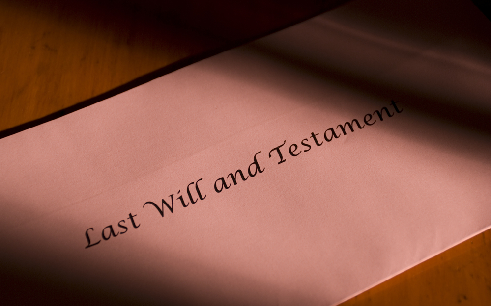 The Importance of Having a Will in place