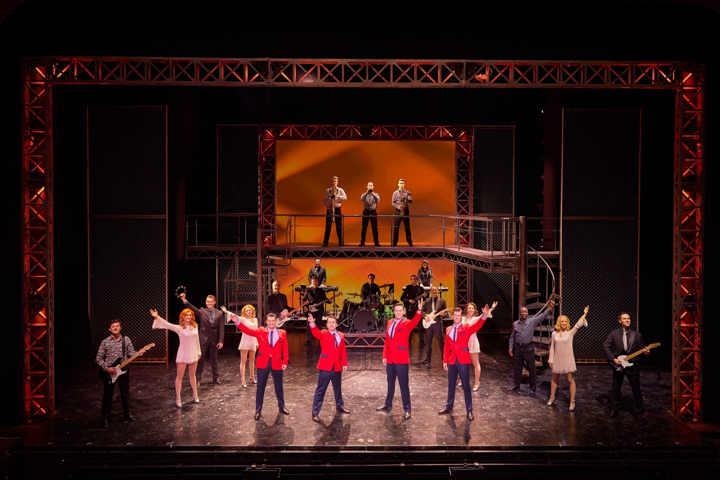 Oh What A Night! Jersey Boys Norwich Theatre Royal