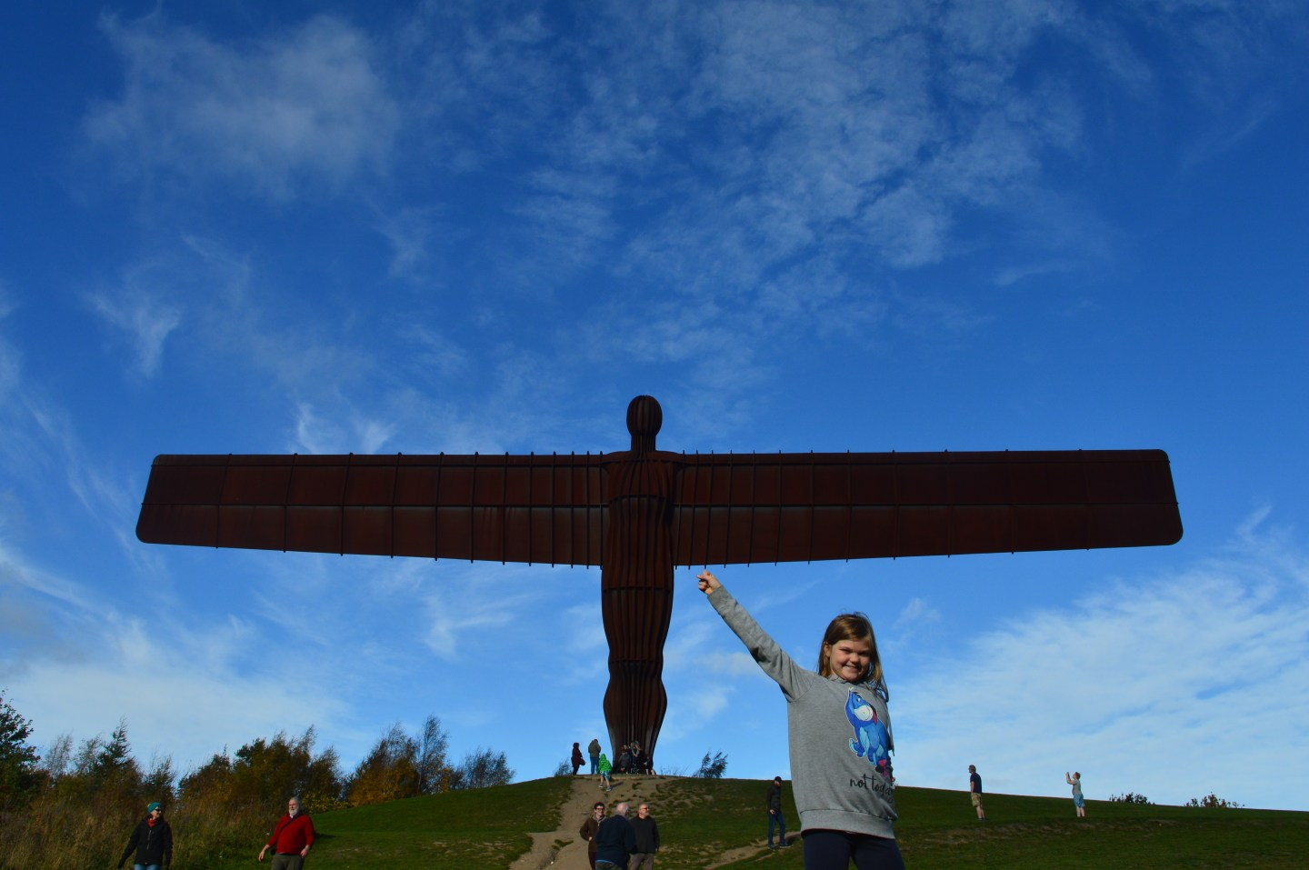 A day trip to Newcastle with a stop at the Angel of the north