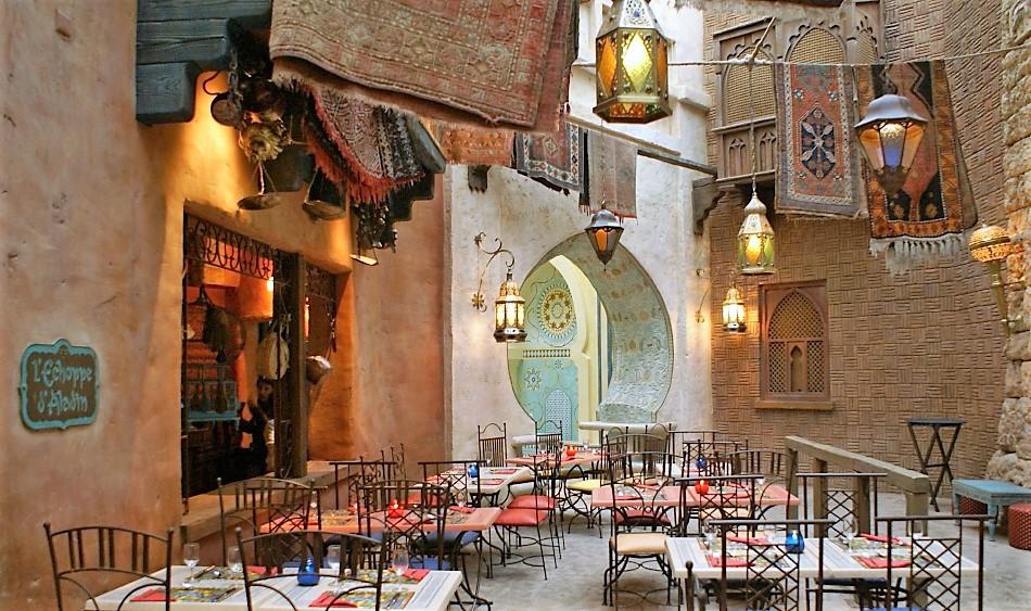 Disneyland Paris Restaurants Agrabah Cafe