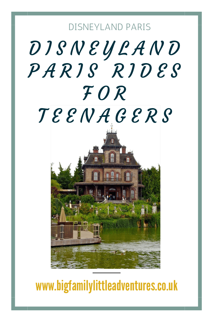 Disneyland Paris isn't just for little children, check out these Rides For Teenagers at Disneyland Paris, and see if you can find a favourite.