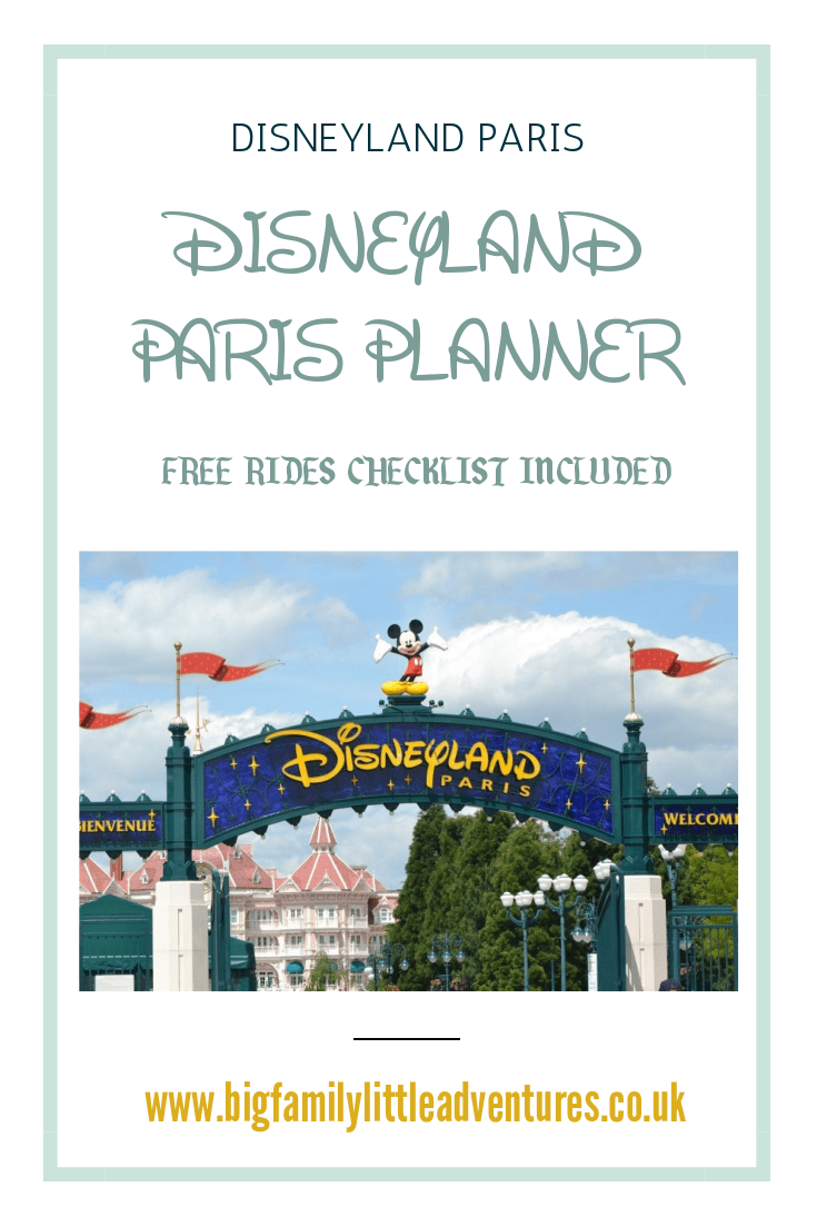 If you are visiting Disneyland Paris this year check out this vacation planner and print off the two FREE rides checklists to ensure you don't miss any ride during your visit