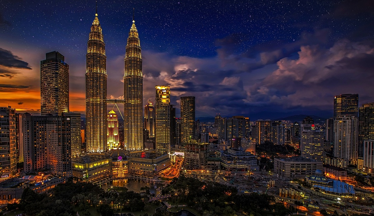 Petronas twin towers one of the Top 10 attractions in Malaysia
