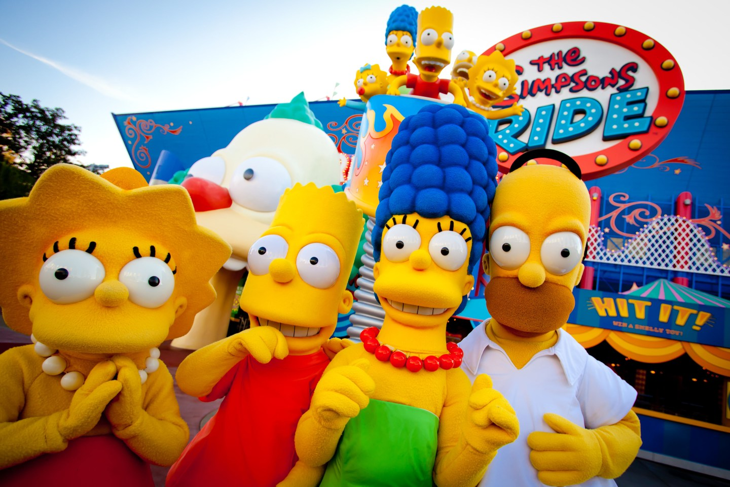 Can't Miss Attractions at Universal Studios The Simpsons Ride