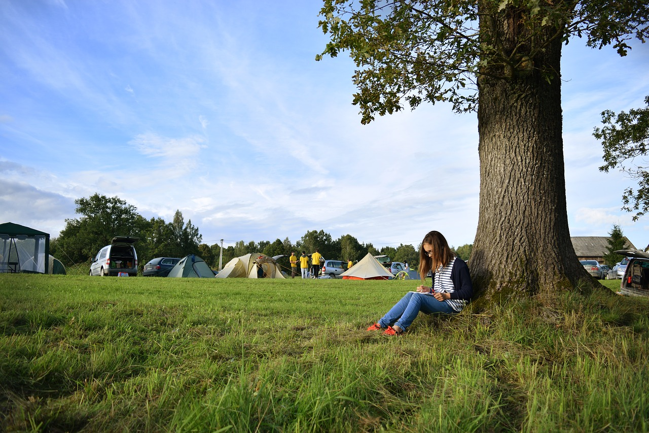 Help Kids Sleep while camping