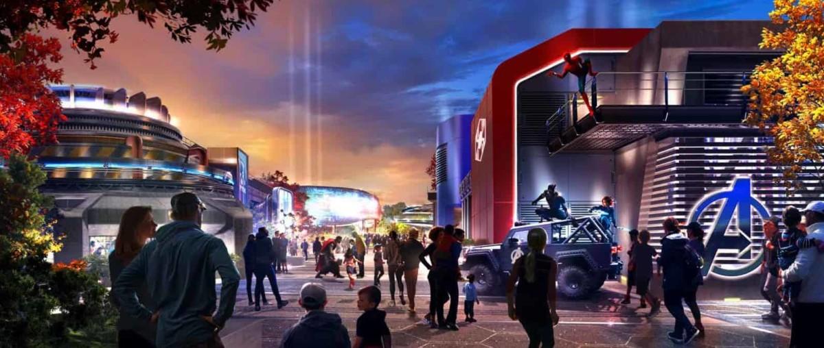 Disneyland Paris expansion includes an Avengers Campus