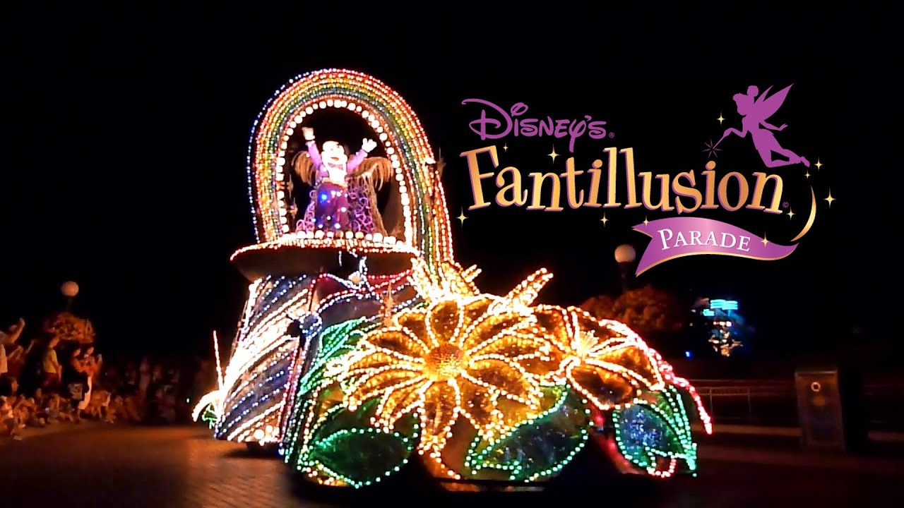extinct Disneyland Paris attractions Fantillusion