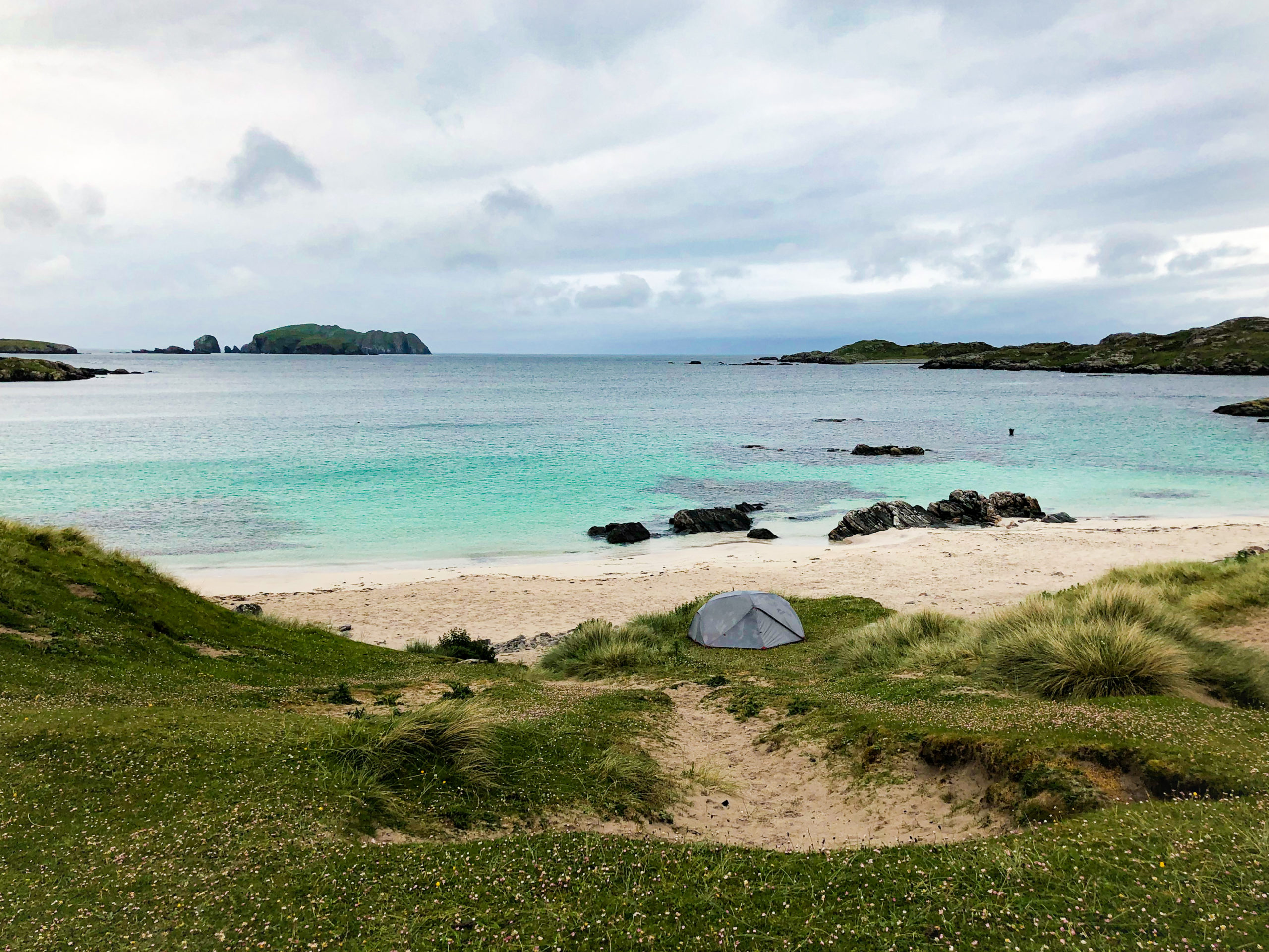 Outer Hebrides Camping