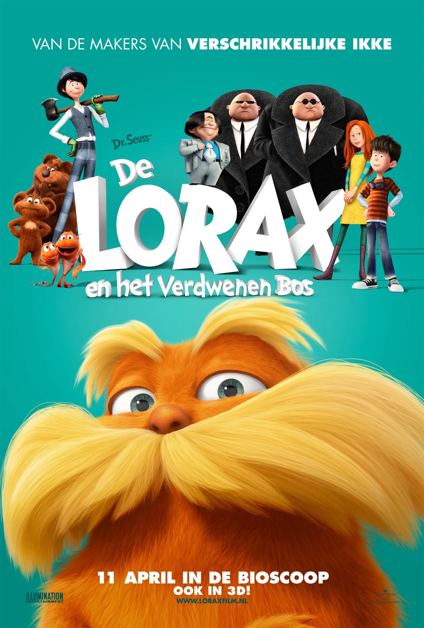 Release Day Round Up Dr Seuss The Lorax Starring Zac