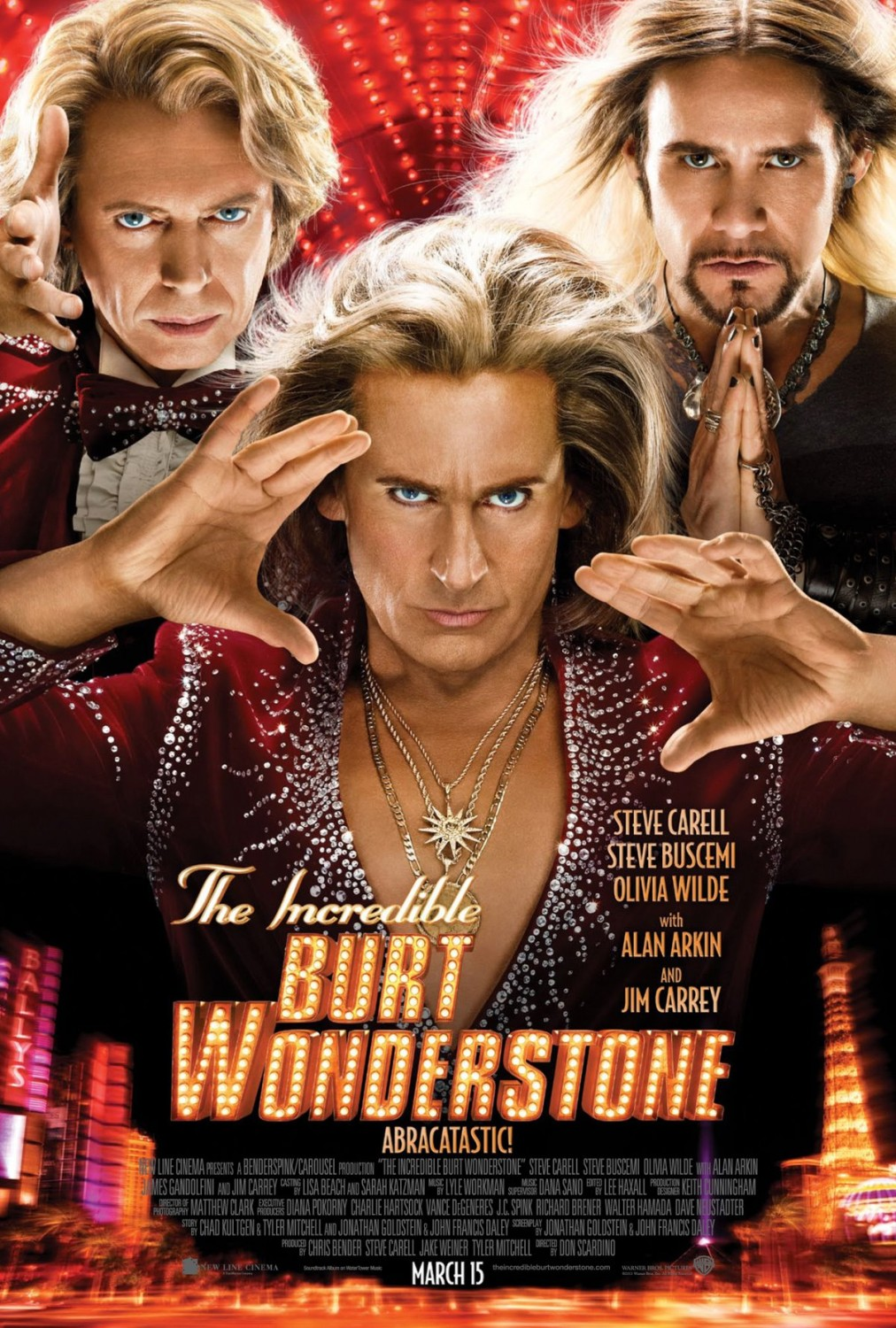 The Incredible Burt Wonderstone - Poster- 005