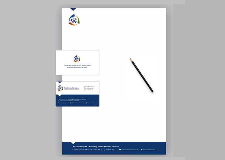Visual identity graphic designs