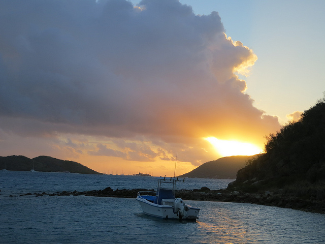 This one's from Virgin Gorda in the British Virgin Islands.