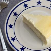 Italian Cream Cheese and Ricotta Cheesecake