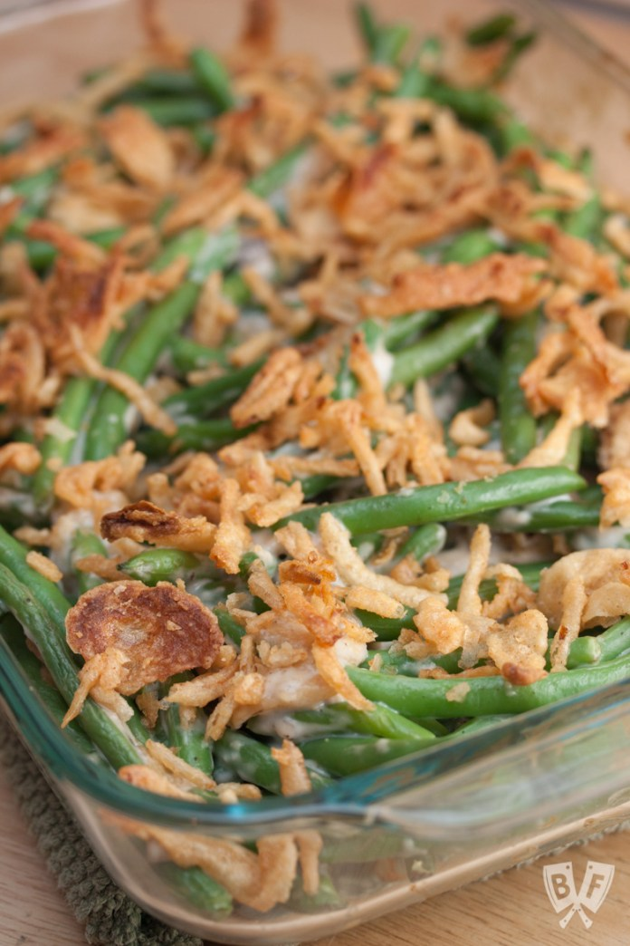 Thanksgiving Classic Green Bean Casserole Big Flavors From A Tiny Kitchen