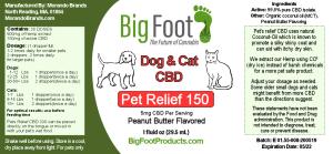 Morando Brands - Bigfoot pet relief 150