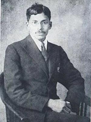 মেঘনাদ সাহা, ১৯২১ সালে বার্লিনে তোলা
