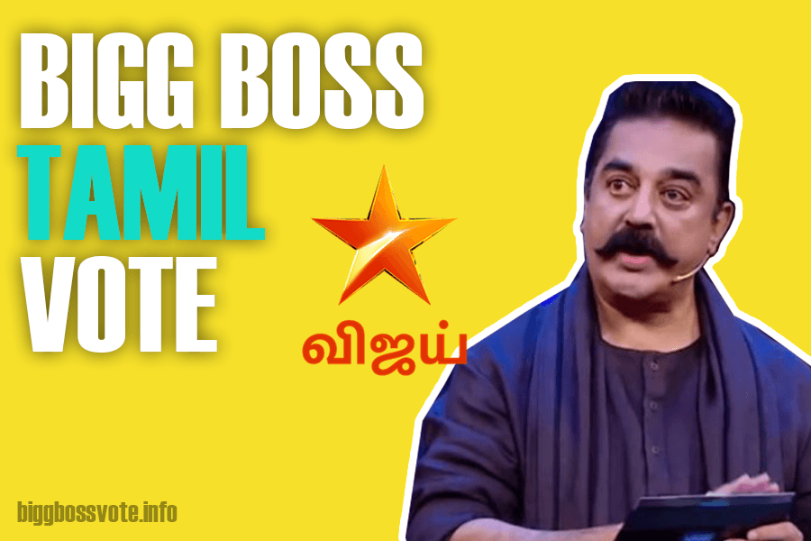 Bigg Boss Tamil Vote Season 4