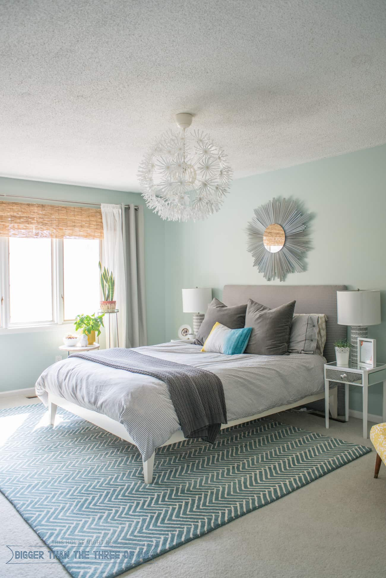 Dreamy Bohemian Bedroom Design - Bigger Than the Three of Us on Master Bedroom Curtains  id=27046