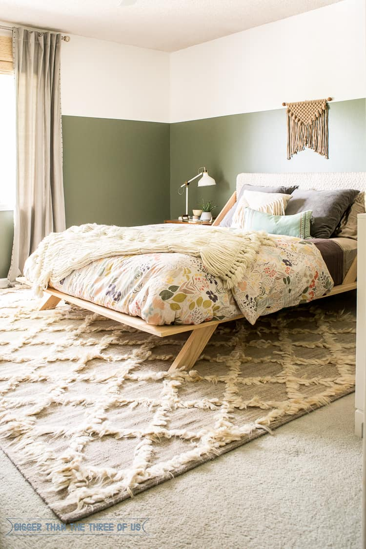 Best Projects and Reveals of 2016 - Bigger Than the Three ... on Boho Master Bedroom Ideas  id=91332