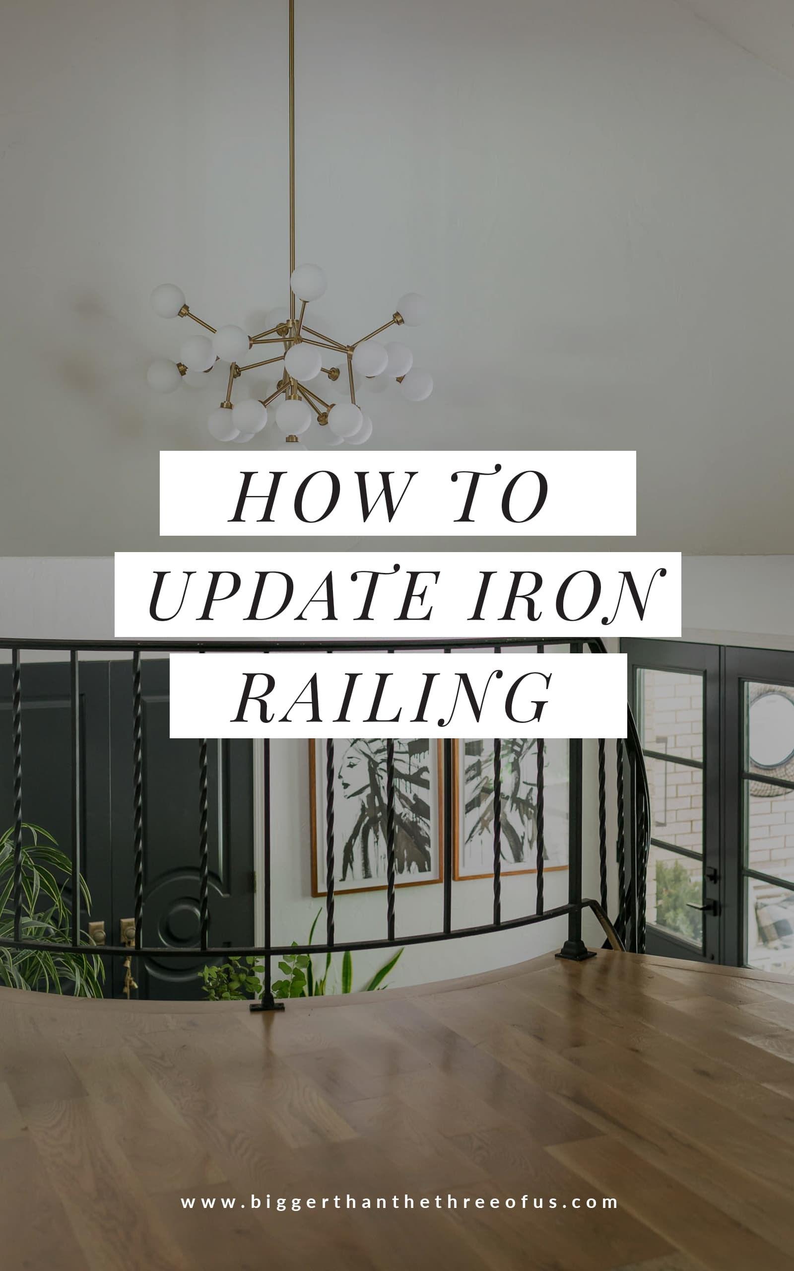 Stair Railing Idea Update Wrought Iron Handrails Bigger Than | Ladder Railing Design Iron | Balcony | Wrought Iron | Railing Ideas | Metal | Baluster