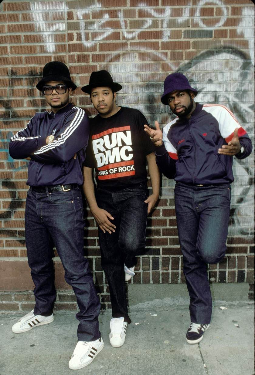 UNITED STATES - JANUARY 01: Photo of RUN DMC (Photo by Ebet Roberts/Redferns)