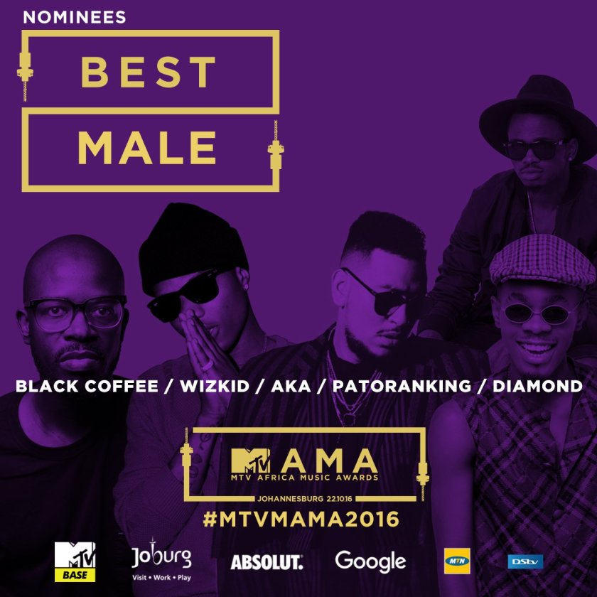 Best Male 2016 MAMA nominees