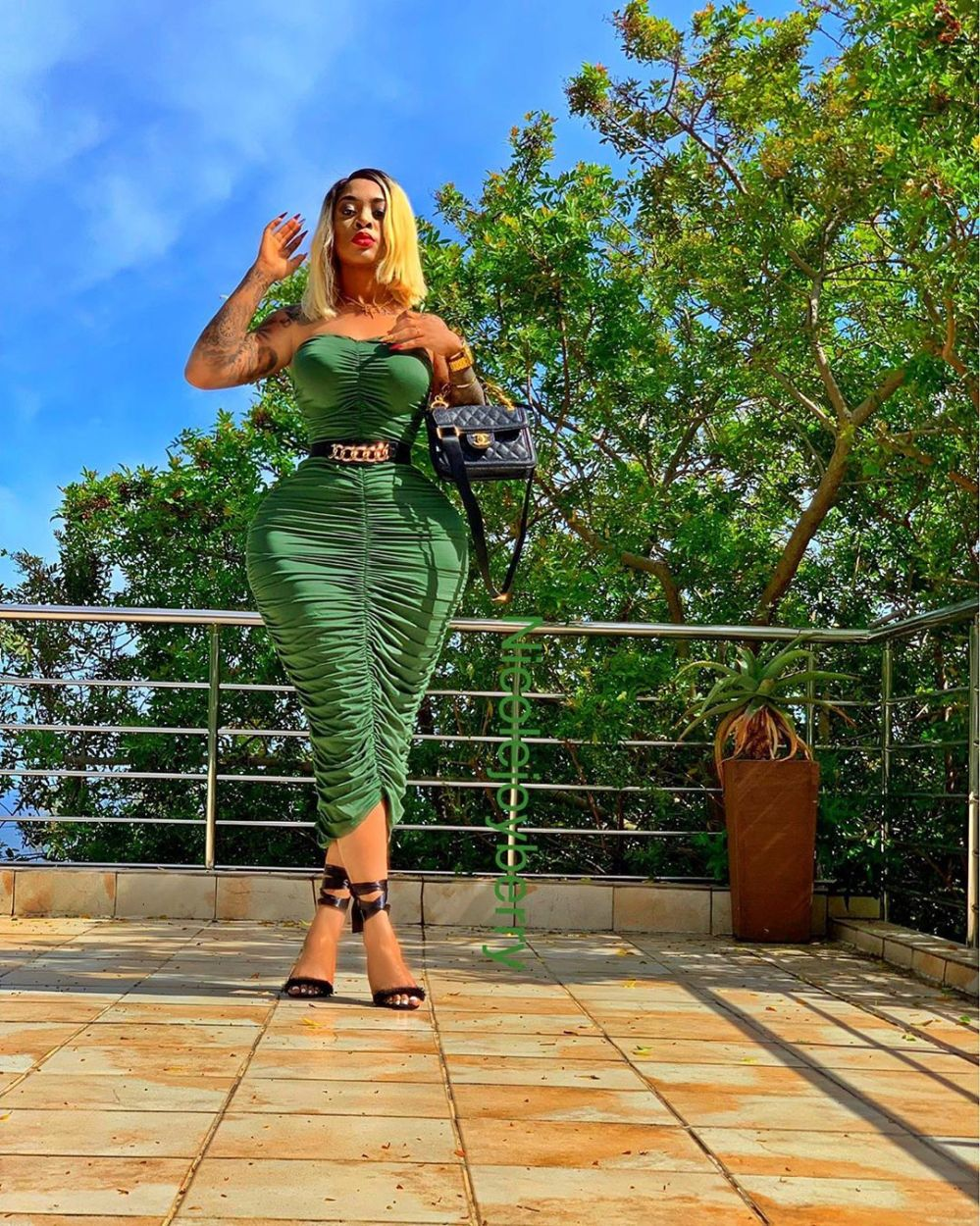Eye Candy: the curvaceous and beautiful Nicole Joyce Berry