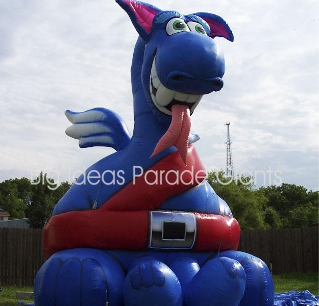 Snapper The Dragon Cold Air Balloon