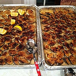 Catering Clams