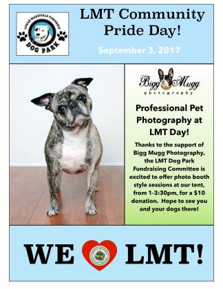 LMT Dog Park Photobooth Flier