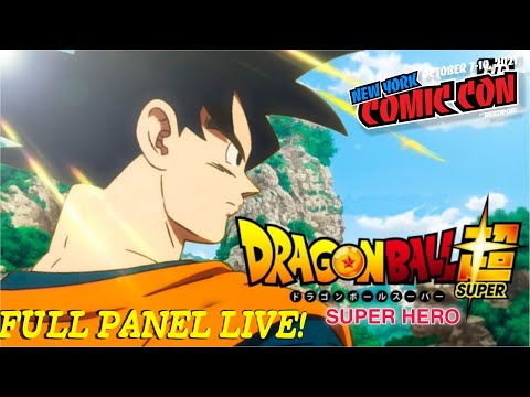 Dragon Ball Super Super Hero Special Panel LIVE | NYCC 2021 (FULL) | LIVE REACTION!!!