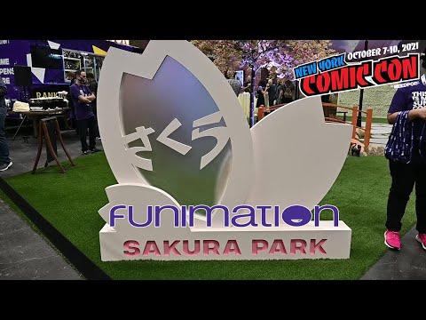 Funimation Sakura Park FIRST LOOK! | NYCC 2021