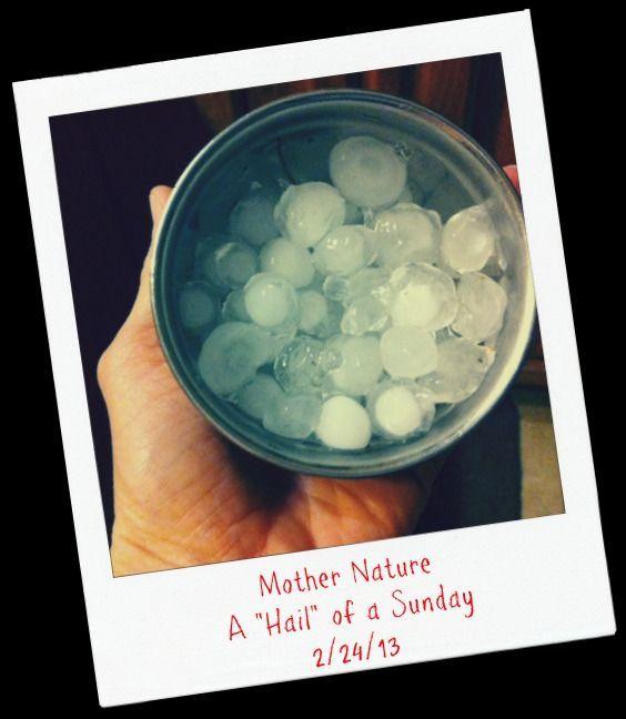 Hail Sunday