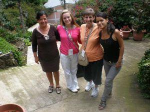 Silvia (the mom), Tenley, Me, Silvia July 2011