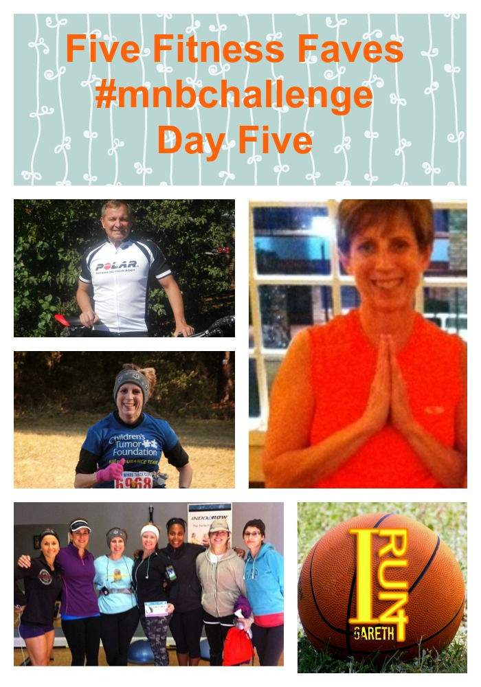 Five Fitness Faves
