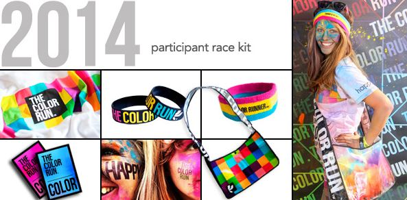 color run race kit